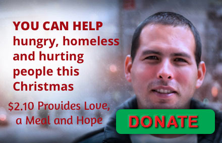 Donate to help the homeless and needy this Christmas and holiday season.
